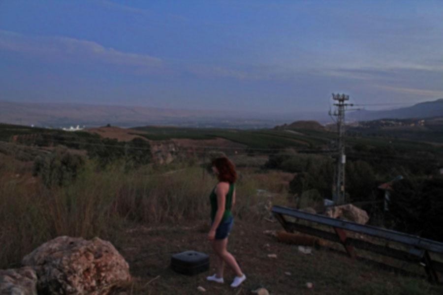 on a road trip through Northern Israel