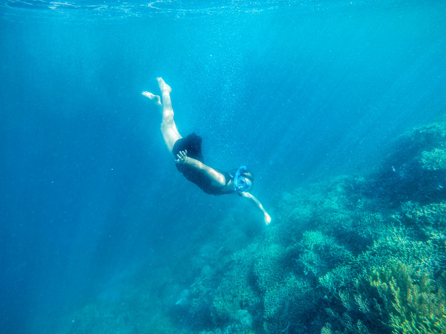 snorkeling in Riung, Flores