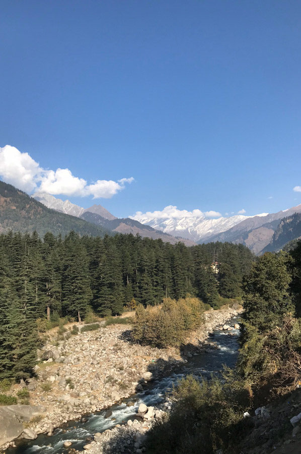 a walk through manali