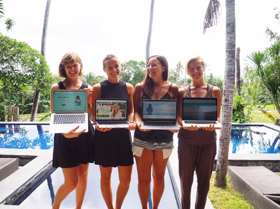 Bali frontend bootcamp crew